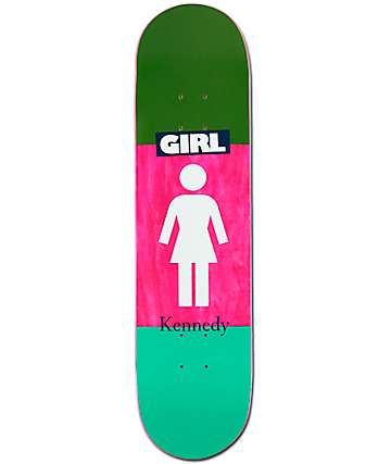 "Girl Kennedy Blocked OG 8.0"" Skateboard Deck"