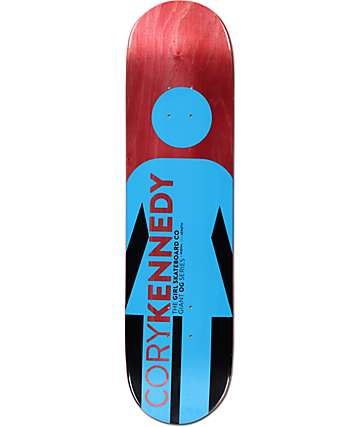 "Girl Kennedy Giant OG Series 8.0"" Skateboard Deck"