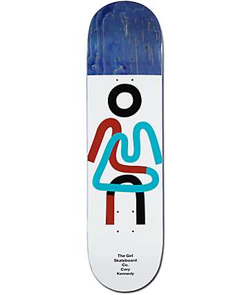"Girl Kennedy Twisted OG 8.25"" tabla de skate"