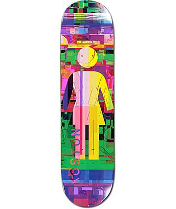 "Girl Koston Glitch Mode 8.25"" Skateboard Deck"