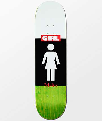 "Girl Malto Blocked OG 8.12"" Skateboard Deck"