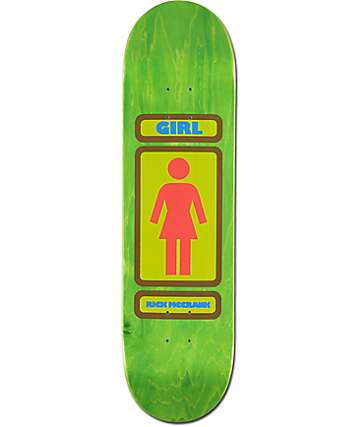 "Girl McCrank 93 Til 8.37"" Skateboard Deck"
