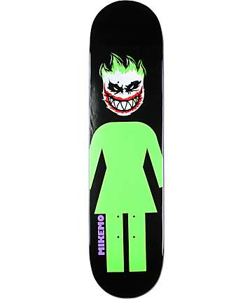 "Girl Mike Mo Capaldi Joker 7.75"" Skateboard Deck"
