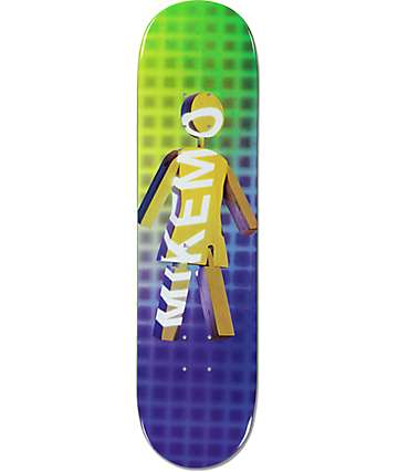 "Girl Mike Mo Future Projections 8.25"" Skateboard Deck"