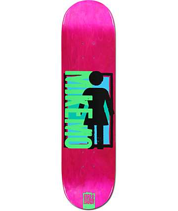 "Girl Mikemo Spike It 8.0"" Skateboard Deck"