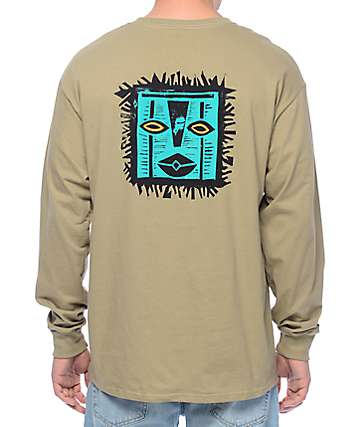 Girl Tiki Safari Long Sleeve T-Shirt