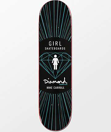 "Girl x Diamond Supply Co Mike Carroll 8.0"" Skateboard Deck"