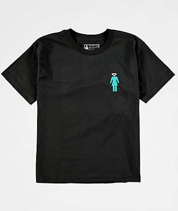 Girl x Diamond Supply Co. Boys Black T-Shirt