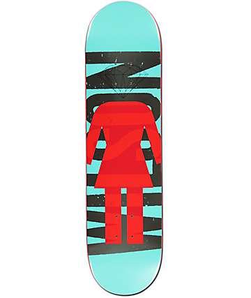 "Girl x Diamond Supply Co. Wilson 8.12"" tabla de skate"