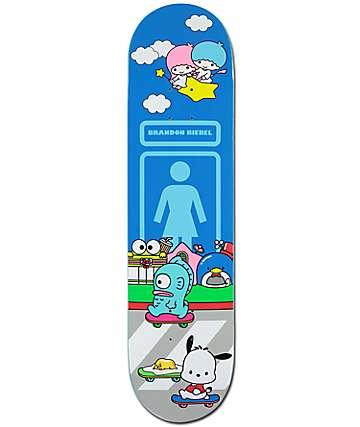 "Girl x Hello Sanrio Biebel 8.0"" tabla de skate"
