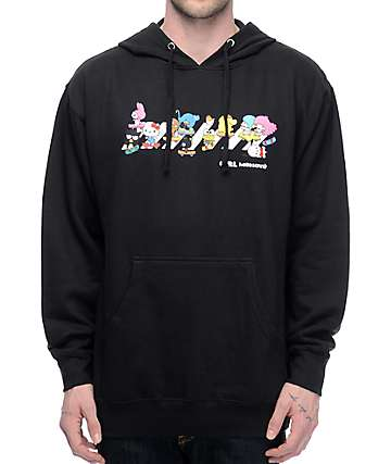 Girl x Hello Sanrio Crosswalk Black Hoodie