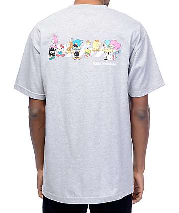 Girl x Hello Sanrio Crosswalk Grey T-Shirt