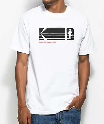 Girl x Kodak Heritage White T-Shirt