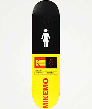 "Girl x Kodak Mike Mo 8.125"" Skateboard Deck"