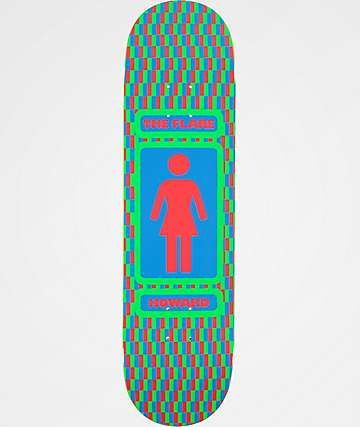 "Girl x Lakai Howard The Flare 8.25"" Skateboard Deck"