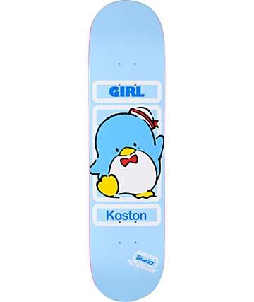 "Girl x Sanrio Koston Hello Kitty 8.0"" Skateboard Deck"
