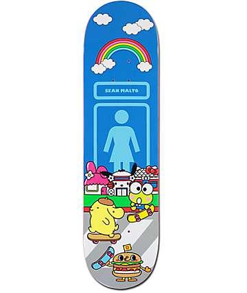 """Girl x hello sanrio Malto 8.12"""" Skateboard Deck"""