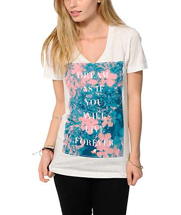 Glamour Kills Wishful Thinking V-Neck Tee