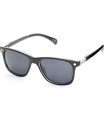 Glassy Biebel Matte Black Polarized Sunglasses