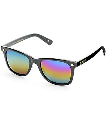 Glassy Mikemo Black Polarized Sunglasses