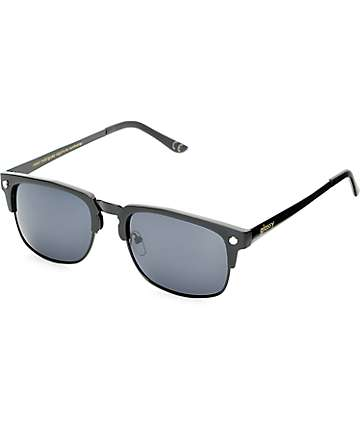 Glassy P-Rod Matte Black Polarized Sunglasses