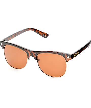 Glassy Shredder Coffee Tortoise Polarized Sunglasses