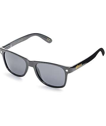 Glassy Sunhaters Leonard Black Polarized Sunglasses