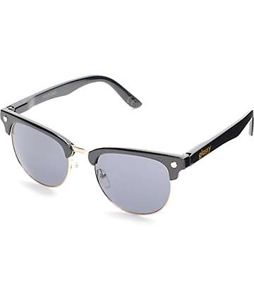 Glassy Sunhaters Morrison Black & Gold Sunglasses