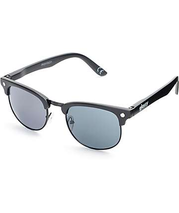 Glassy Sunhaters Morrison Matte Black Sunglasses