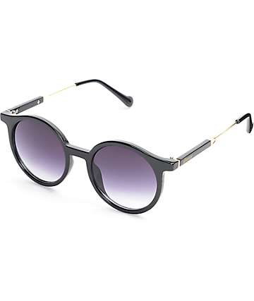 Glassy Sunhaters Robyn Black Sunglasses