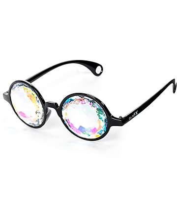 GloFX gafas caleidoscopio en negro