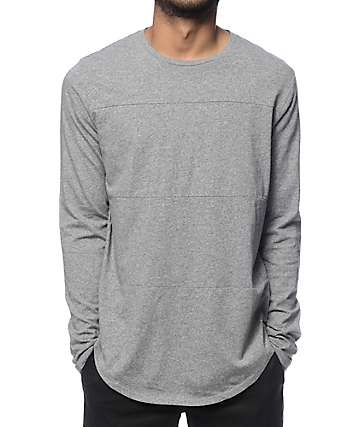 Globe Argo Grey Long Sleeve Tall T-Shirt