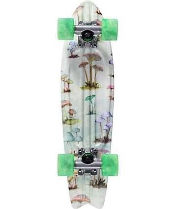 """Globe Bantam ST Mushroom Hunt 23"""" Cruiser Complete Skateboard"""