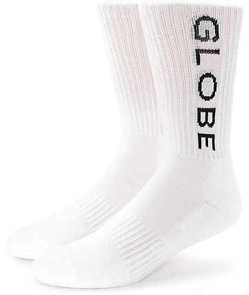 Globe Cremorne White Crew Socks