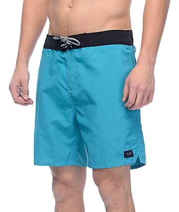 """Globe Dana 18"""" Turquoise Boardshorts"""