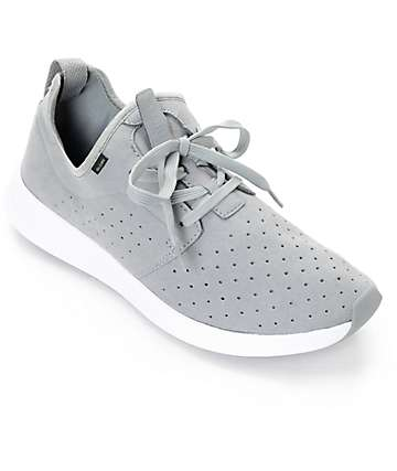 Globe Dart Lyt Grey & White Shoes