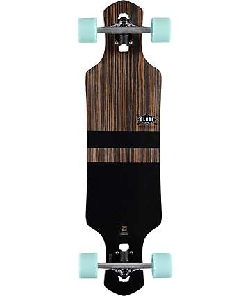 "Globe Geminon 35"" Drop Through Longboard Complete"
