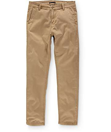 Globe Goodstock Vintage Khaki Slim Fit Chino Pants