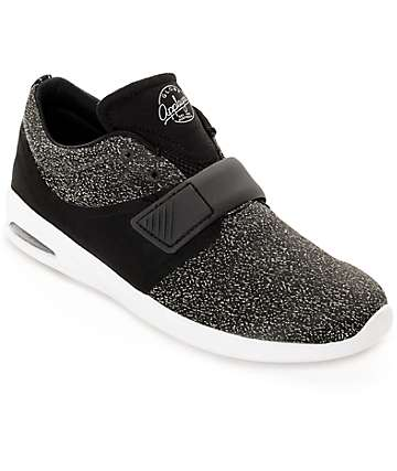 Globe Mahalo Lyte Black & White Skate Shoes