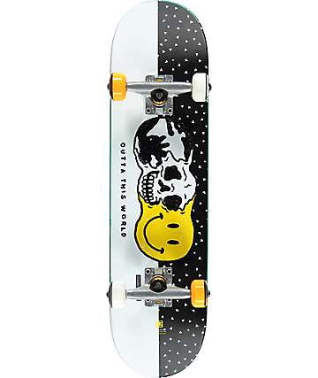 "Globe Outta This World 7.6"" skate completo"