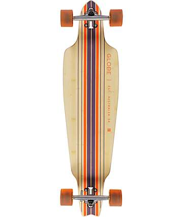 "Globe Prowler Bamboo 38"" Drop Through Longboard Complete"