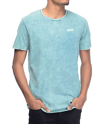 Globe Rail Chest Hit Teal T-Shirt