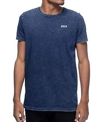 Globe Rail camiseta en azul marino