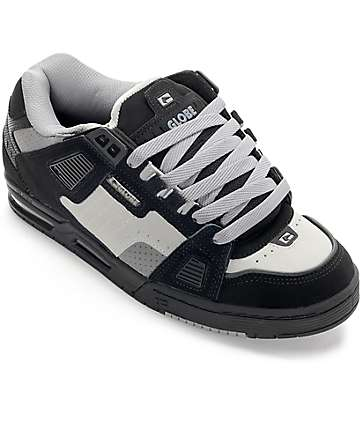 Globe Sabre Black & Grey Shoes