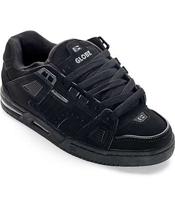 Globe Sabre Black Skate Shoes