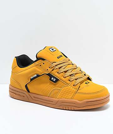 Globe Scribe Wheat & Gum Nubuck Skate Shoes