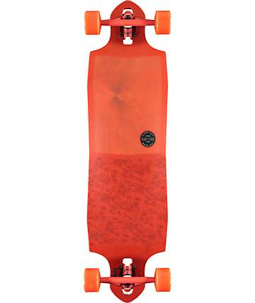 "Globe Sledgehog Fibercarve 37.5"" Drop Through Longboard Complete"