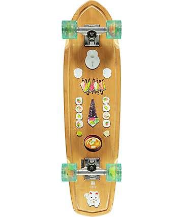 "Globe Tracer Classic Sushi Bamboo 31.125"" Cruiser Complete Skateboard"