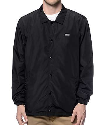 Globe Vista Black Coach Jacket
