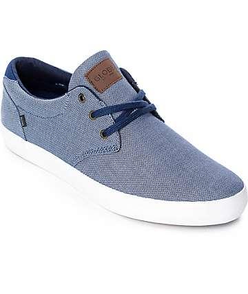 Globe Willow zapatos de skate en azul marino y blanco